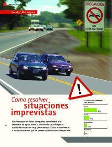 Conducción segura [ SEGURIDAD VIAL ]