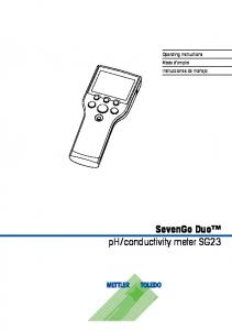 conductivity meter SG23
