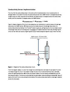 Conductivity Sensor Implementation