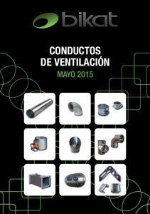 CONDUCTOS DE VENTILACIÓN MAYO 2015