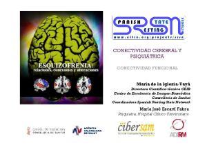CONECTIVIDAD CEREBRAL Y PSIQUIATRICA