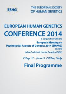 CONFERENCE 2014 in conjunction with the
