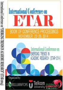 CONFERENCE PROCEEDINGS BOOK OF ABSTRACTS ETAR-2014