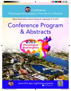 Conference Program & Abstracts