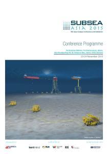 Conference Programme November 2015