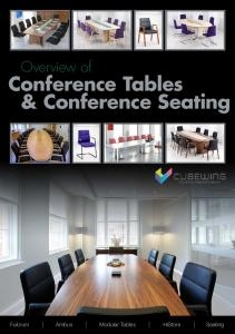 Conference Tables & Conference Seating