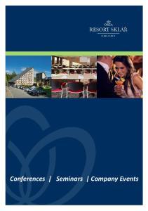 Conferences Seminars Company Events