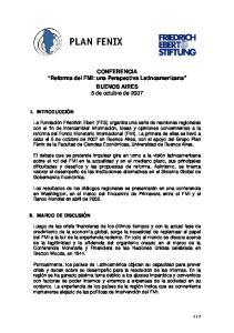 CONFERENCIA Reforma del FMI: una Perspectiva Latinoamericana BUENOS AIRES 5 de octubre de 2007
