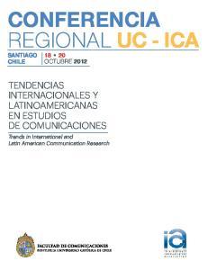 CONFERENCIA REGIONAL UC - ICA