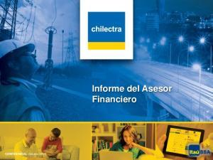 CONFIDENCIAL Octubre Informe del Asesor Financiero