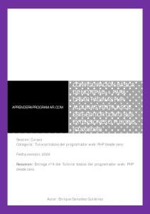 CONFIGURACIÓN BÁSICA DE NOTEPAD++ PARA CREAR PÁGINAS PHP. ALGUNAS VENTAJAS DE ESTE EDITOR COMO SUS EXTENSIONES O PLUGINS