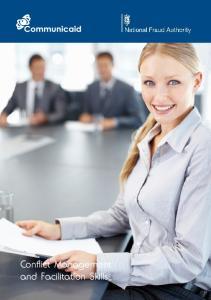 Conflict Management and Facilitation Skills