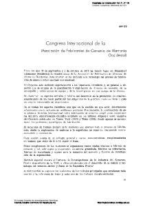 Congreso Internacional de la