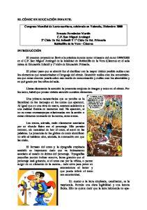 Congreso Mundial de Lecto-escritura, celebrado en Valencia, Diciembre 2000