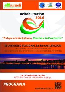 CONGRESO NACIONAL DE REHABILITACION