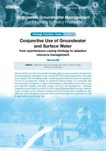 Conjunctive Use of Groundwater and Surface Water