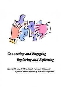 Connecting and Engaging Exploring and Reflecting