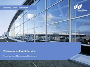 Connecting Global Competence Professional Event Service