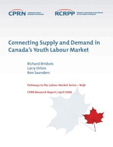 Connecting Supply and Demand in Canada s Youth Labour Market
