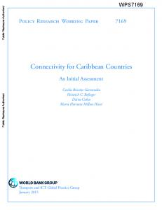 Connectivity for Caribbean Countries