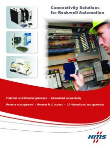 Connectivity Solutions for Rockwell Automation