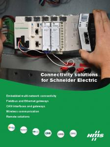 Connectivity solutions for Schneider Electric