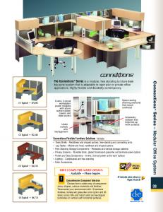 Connextions TM Series Modular Office System