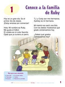 Conoce a la familia de Ruby