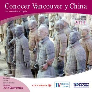 Conocer Vancouver y China