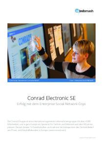 Conrad Electronic SE