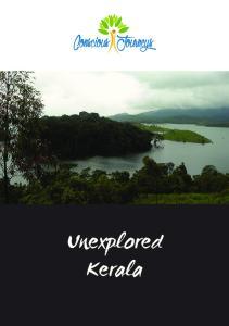Conscious Journeys. Unexplored Kerala