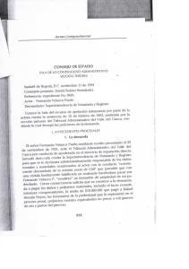 CONSEJO DE ESTADO. Anexo Jurisprudencial