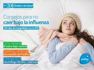 Consejos para no caer bajo la influenza
