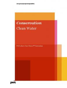 Conservation Clean Water