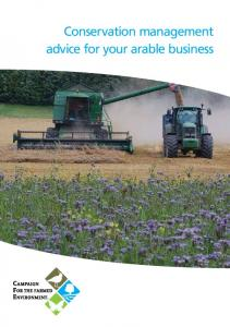 Conservation management advice for your arable business