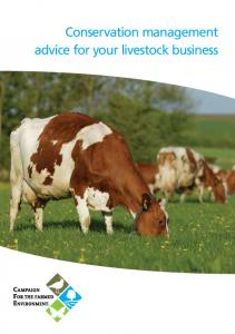 Conservation management advice for your livestock business