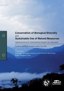 Conservation of Biological Diversity