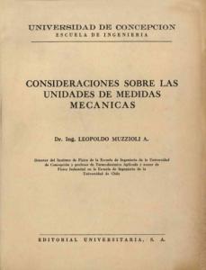 CONSIDERACIONES SOBRE LAS UNIDADES DE MEDIDAS MECANICAS