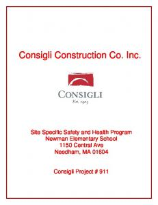 Consigli Construction Co. Inc