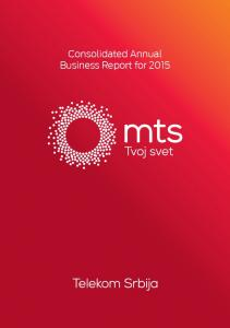 Consolidated Annual Business Report for 2015