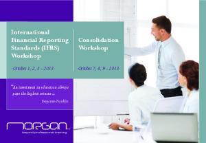 Consolidation Workshop
