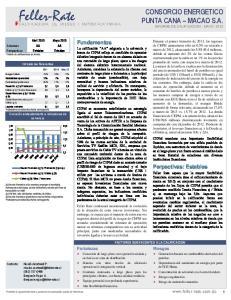 CONSORCIO ENERGETICO PUNTA CANA MACAO S.A