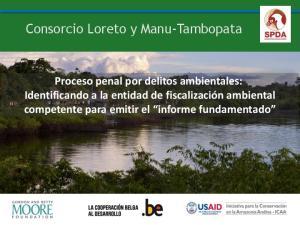 Consorcio Loreto y Manu-Tambopata