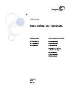 Constellation ES.1 Serial ATA
