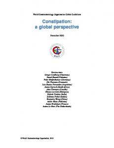 Constipation: a global perspective