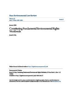 Constituting Fundamental Environmental Rights Worldwide
