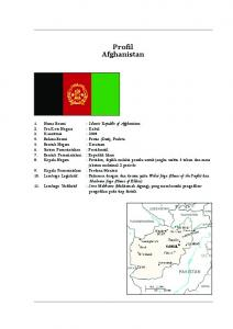 Constitution of the Islamic Republic of Afghanistan