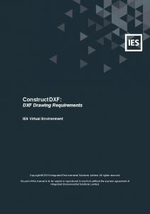 ConstructDXF: DXF Drawing Requirements
