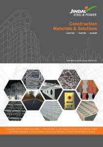 Construction Materials & Solutions