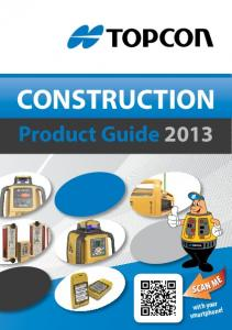 CONSTRUCTION. Product Guide with your smartphone!